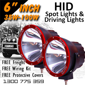 DR500 6 Inch HID Spot and Driving Lights