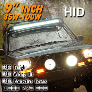 DR500 9 Inch HID Spot and Driving Lights