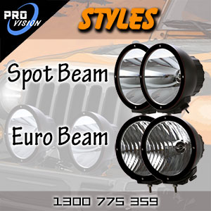 DR9000 Heavy Duty HID Driving Lights and Spot Lights Style