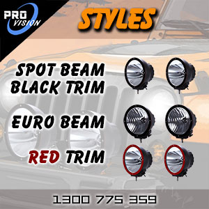 DR9000 Heavy Duty HID Driving Lights and Spot Lights Types