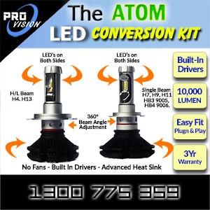 The ATOM LED Conversion Kits Features