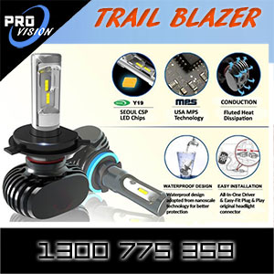 Trail Blazer LED Kit Specifications