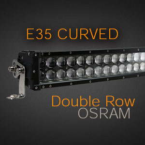 Curved LED Double Row
