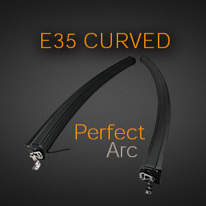 Curved Double Row Arc
