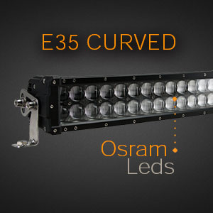 Curved Double Row Osram