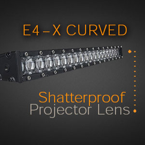 Curved Single Row - Unbreakabe Lens