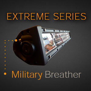 LED Light Bar with Military Breather