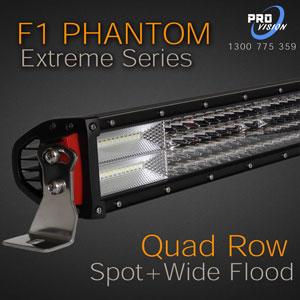 Led lightbars the best in australia call us on 1300 775 359 for led light bar f1 phantom extreme series aloadofball Image collections