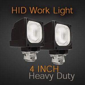 4 Inch Heavy Duty HID Work Light