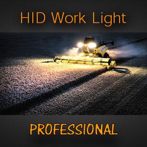 4 Inch Heavy Duty HID Work Light for Tractors | Farm Lights | Mining Trucks