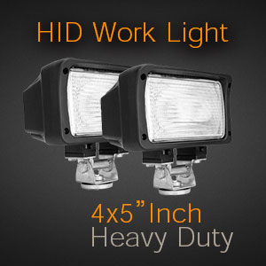The Brightest HID Work Lights