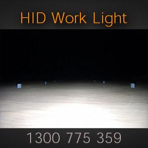 Rear Mount Heavy Duty HID Work Light Flood Beam