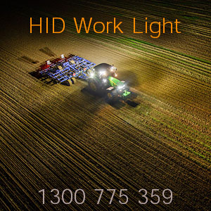 6 Inch Heavy Duty HID Work Light for Tractors and Trucks Illumination
