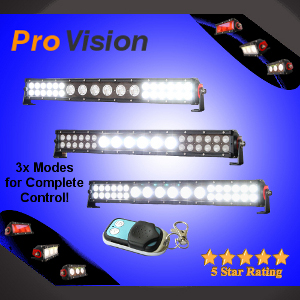Hybrid Remote Controlled LED Light Bar