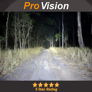Pro Grade Light Bar on a Bush Track