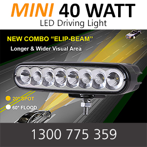 LED Driving Light Bar Mini 40 Watt