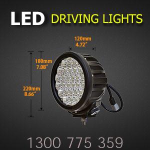 LED Driving Light 7 Inch 140 Watt Pro Dimensions