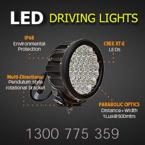 LED Driving Light 7 Inch 140 Watt Pro Features