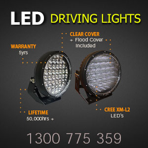 LED Driving Lights 9 Inch 370 Watt CREE LEDs