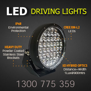 LED Driving Lights 9 Inch 370 Watt Pro Features