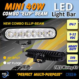6 Inch Mini 40 Watt LED Driving Light