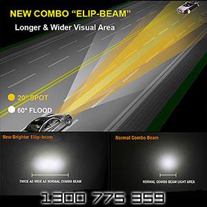 Heavy Duty 6 Inch 40 Watt LED Driving Light Features