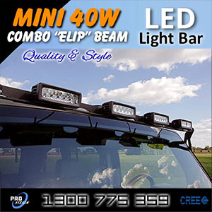Heavy Duty 6 Inch 40 Watt LED Driving Light Illumination