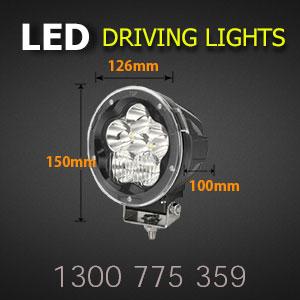 LED Driving Light - 5 Inch 60 Watt - Heavy Duty Size