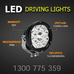 LED Spot Light 7 Inch 135 Watt Features