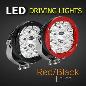LED Spot Light 7 Inch 135 Watt Colours
