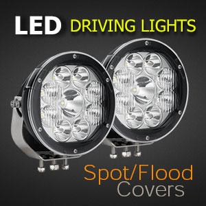 LED Spot Light 7 Inch 135 Watt Beam Type