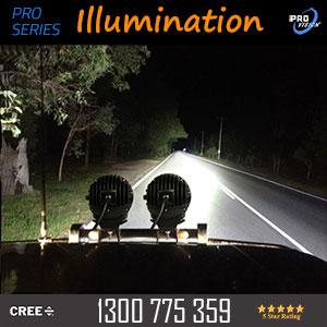 LED Driving Light 7 Inch 140 Watt Pro Illumination