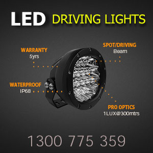 LED Driving Light 5 Inch 80 Watt Professional Grade Features
