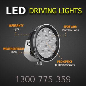 LED Spot Lights 9 Inch 180 Watt Features