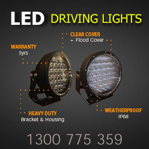 LED Driving Lights 9 Inch 320 Watt Pro Series Features