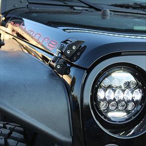 LED Headlamp with Stylish Design
