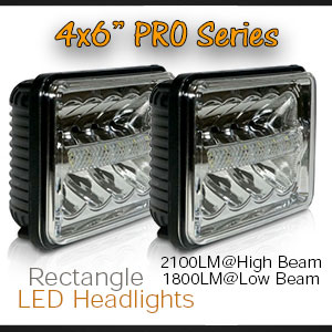 6x4 Inch LED Headlight