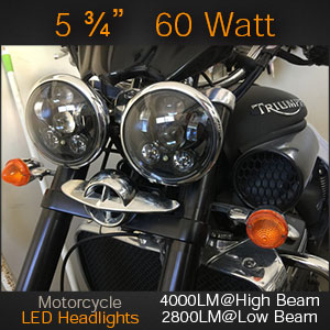 Triumph 5 Inch LED Headlight Lamps