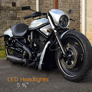 Harley Davidson 5 Inch LED Headlight Lamps