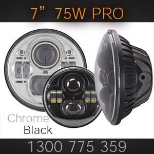 Pro Quality 7 Inch 75w LED Headlight