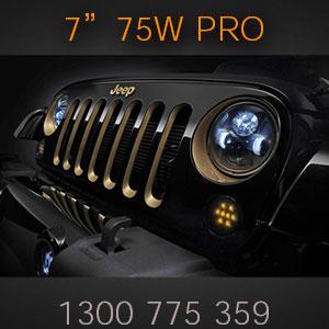 Best Quality Round 7 Inch LED Headlight | 75 Watt