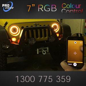 RGB Bluetooth Controlled LED Headlight