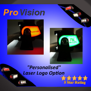 Personalized Lazer Logo for your LED Light Bar