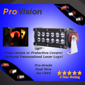Pro Dual Row 3 Watt LED Light Bar