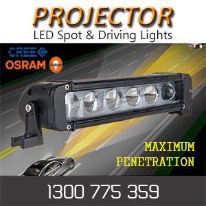 LED Projector Light Bars with 4D Optical Lenses