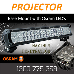 Base Mountable LED Light Bars on a Slide Rail