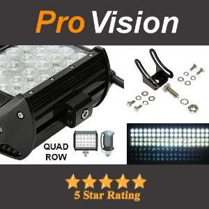 Quad or Four Row LED Light Bar