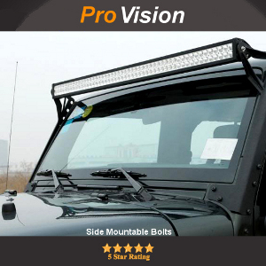 Side or Base Mountable LED Light Bar