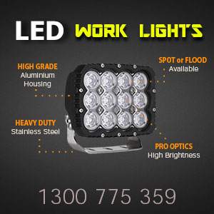 LED Work Light | Heavy Duty 5x7 Inch 120 Watt Features