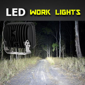 LED Work Light | Heavy Duty 5x7 Inch 120 Watt illumination